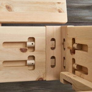 metallfreie Holzverbindung