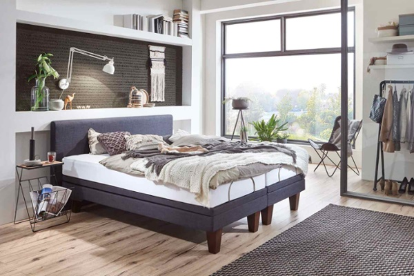 boxspring lattenrost mit massage f r tiefste entspannung schlafstudio helm wien. Black Bedroom Furniture Sets. Home Design Ideas