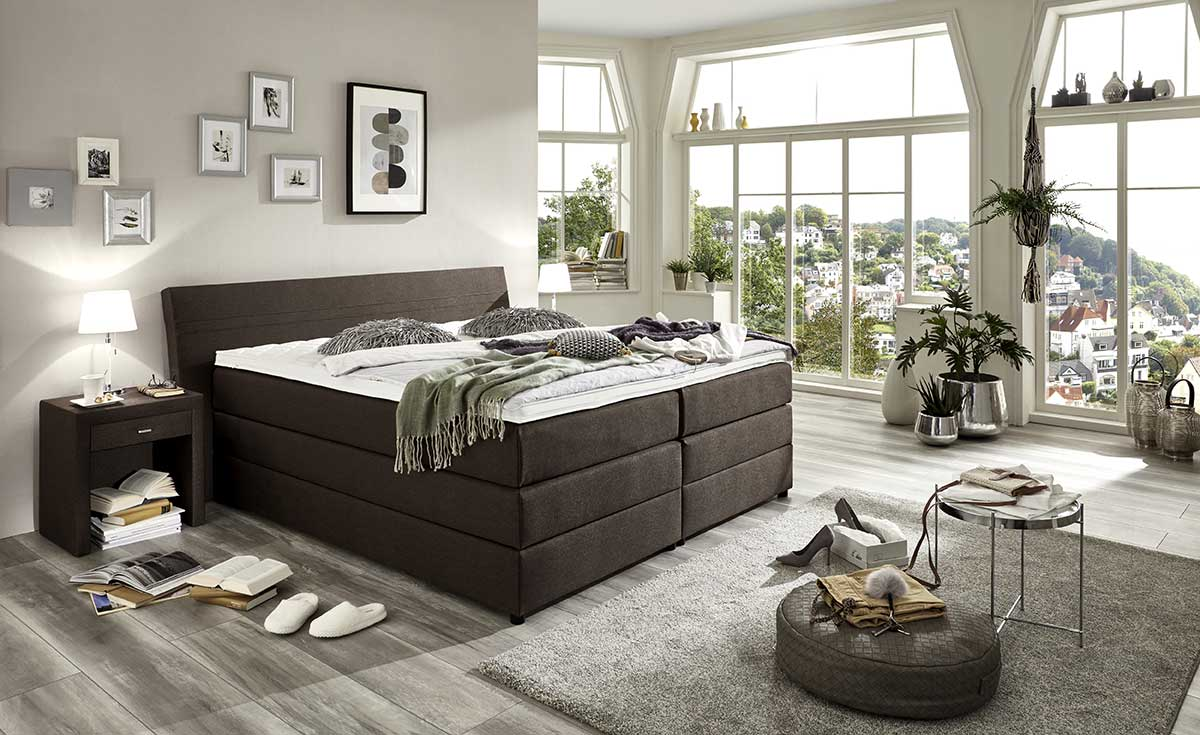 boxspringbetten schlafstudio helm wien. Black Bedroom Furniture Sets. Home Design Ideas