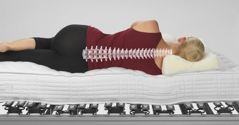 Ergonomie Bett