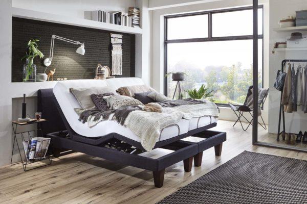 Perfekte TV Position mit verstellbare Komfortbetten von Helm