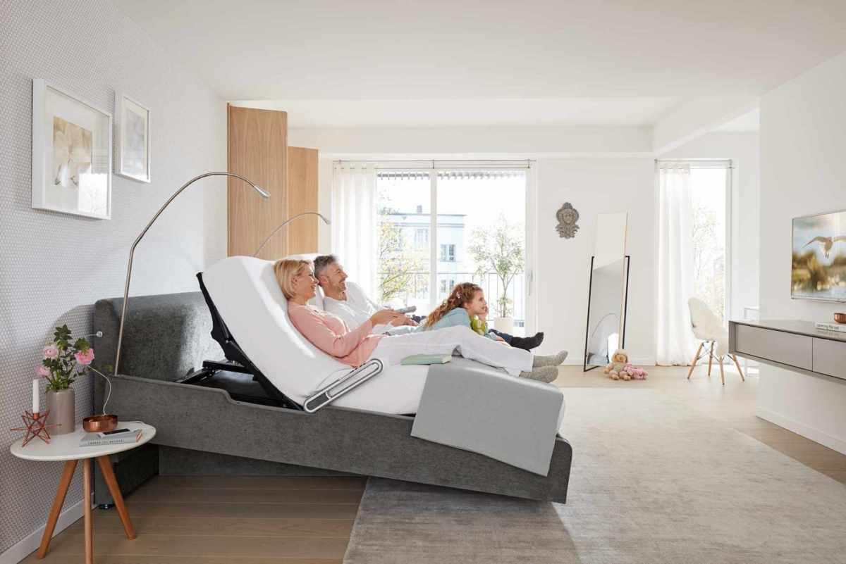 Motorisch verstellbare Betten bei Schlafstudio Helm Wien
