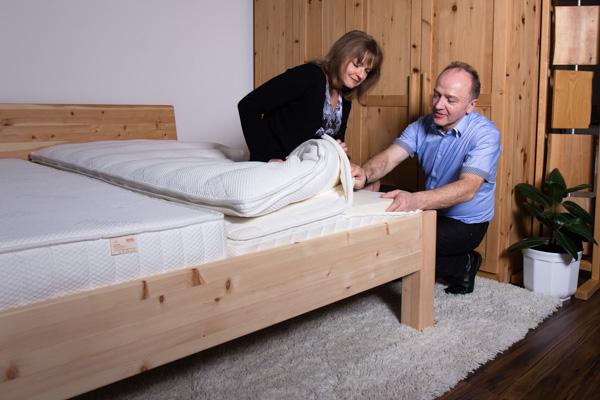 Betten aus Holz Schlafstudio Helm