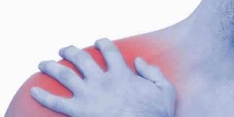 Schulterschmerzen, das falsche Bett